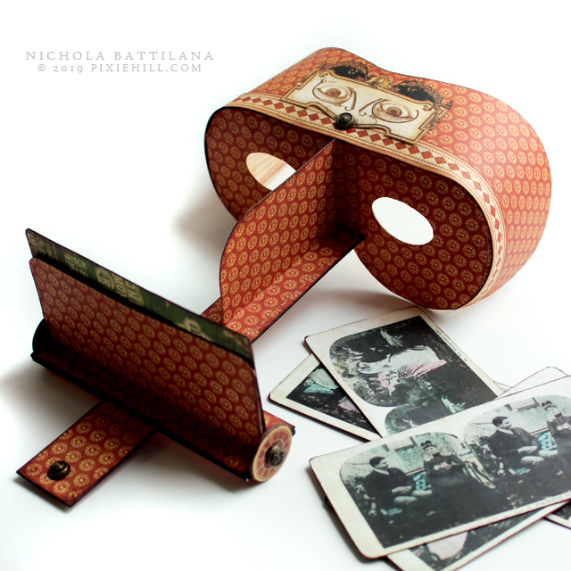 Pixie Hill: Paper Stereoscope Tutorial and Downloads