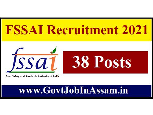 FSSAI Recruitment 2021 :: Apply Online For 38 Director & Manager Vacancy