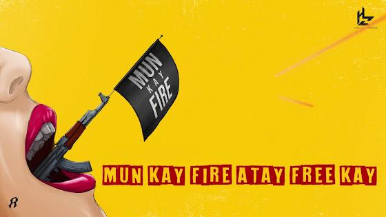 Mun Kay Fire Song Lyrics  - Rap Demon | Talha Anjum Lyrics Planet