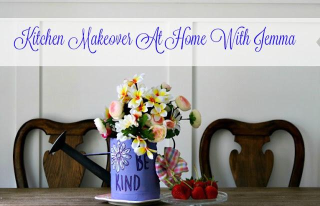 kitchen, paint, white, gray, makeover, cottage, decorating, homemaker, homemaking