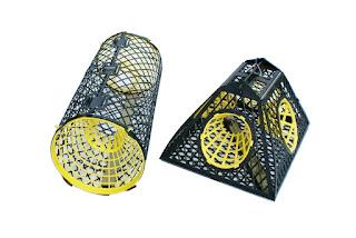 Kräftbur Trappy, mjärde. Burar är främst konstruerade för passivt fiske. Man kan lägga i burarna och åka därifrån för att vittja senare. Läs mer!