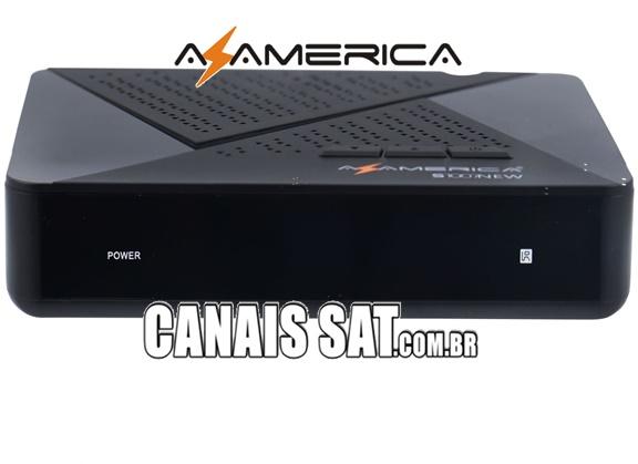 Azamerica S1007 New HD Atualização V1.09.22597 - 23/03/2021