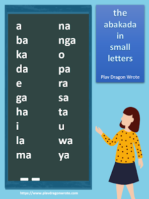 ABaKaDa in small letters - The Filipino Alphabet Effective Reading Guide for Kids