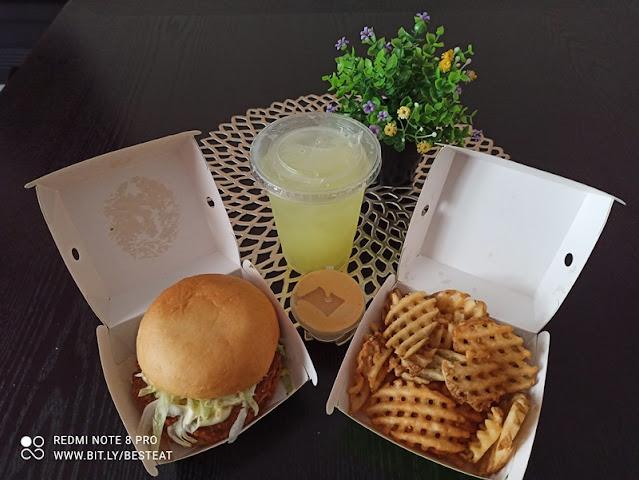 Phuture Food HIGH-FIBRE CHICK'N Burger