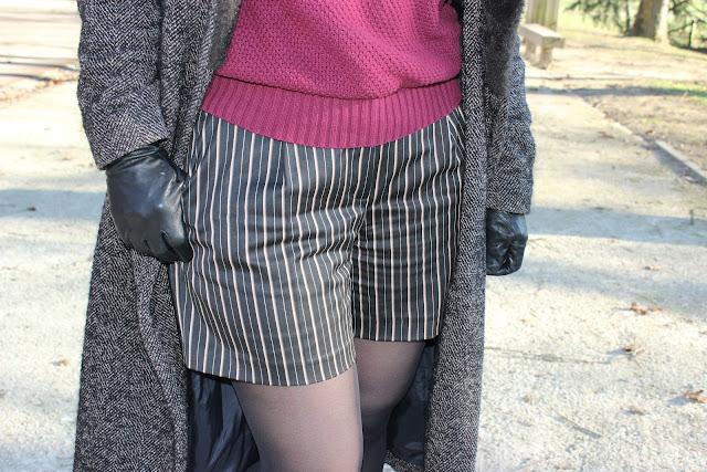 un look gelé, short sinequanone, boots made by sarenza les petites bulles de ma vie