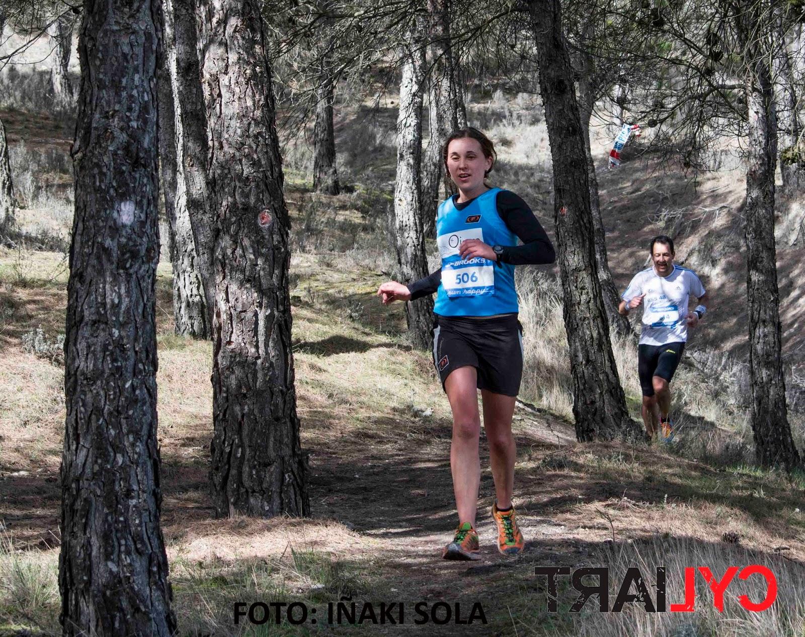 Alma de las Heras, ganadora de La Paramada 2016. /IÑAKI SOLA