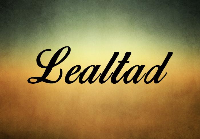 Carta sobre la LEALTAD, a un Amigo leal.-