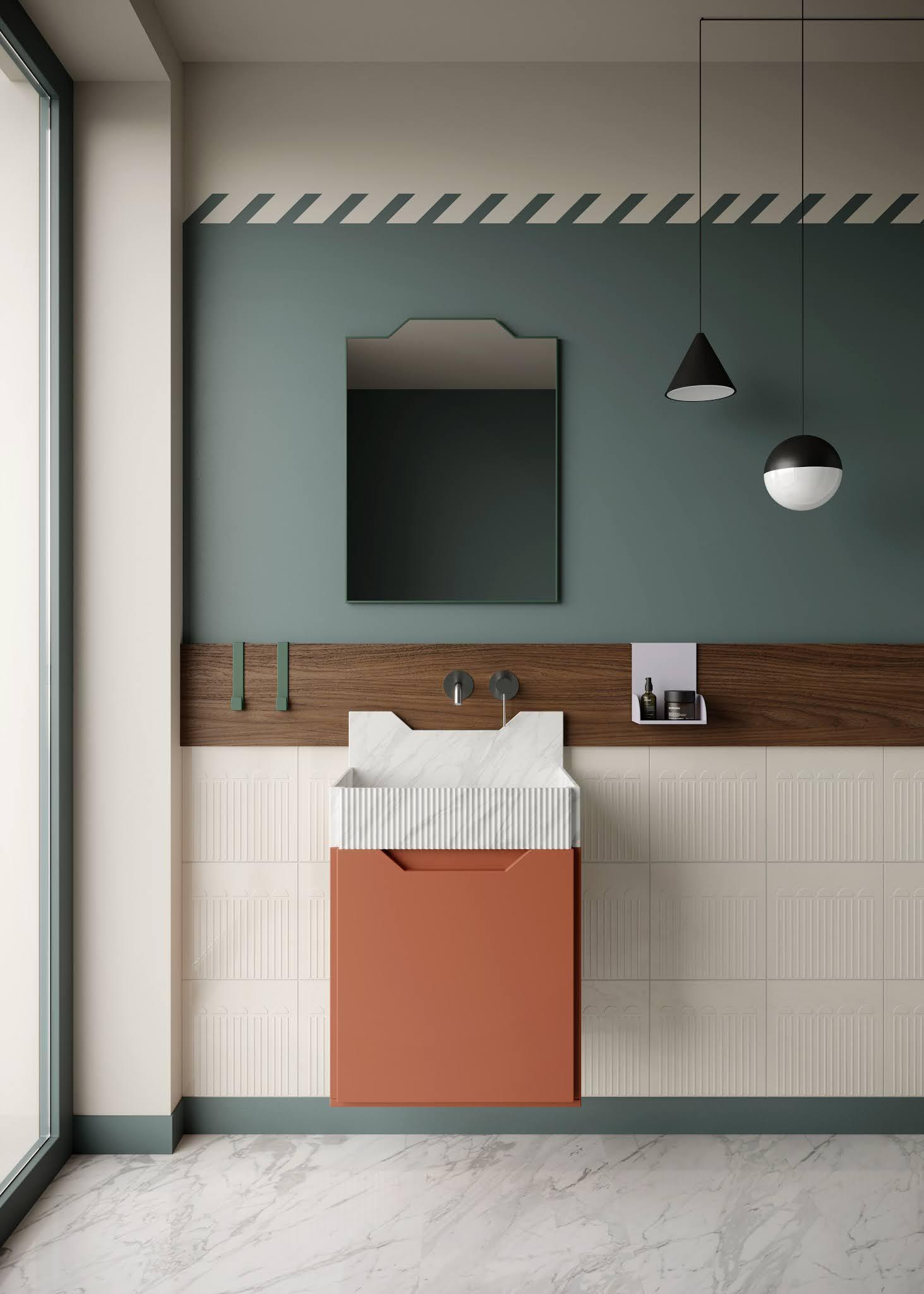 ilaria fatone inspirations - une salle de bains à l'allure futuriste