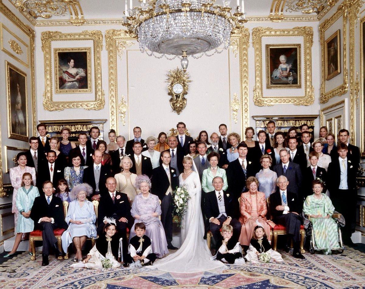 Фотография королевской семьи великобритании