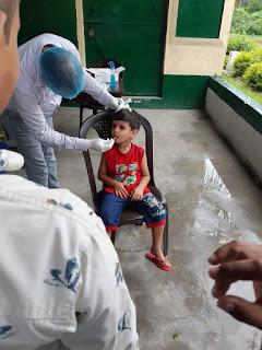कोरोना महामारी से गाँव की जनता को बचाना हमारा पहला लक्ष्य : प्रधान प्रतिनिधि फिरोज हैदर