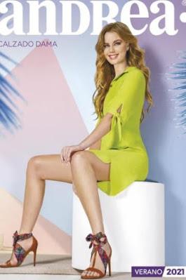 Andrea calzado catalogo Verano 2021