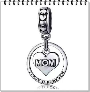 Talisman din Argint I Love You Forever Mom Edenboutique pareri forum preturi garantie
