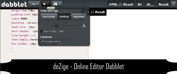 Online Editor CSS HTML Javascript 3