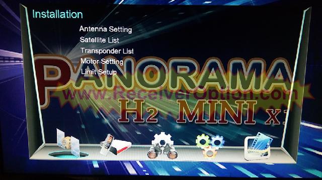 PANORAMA H2 MINI X1 1506TV 512 4M NEW SOFTWARE WITH ECAST & NASHARE PRO OPTION