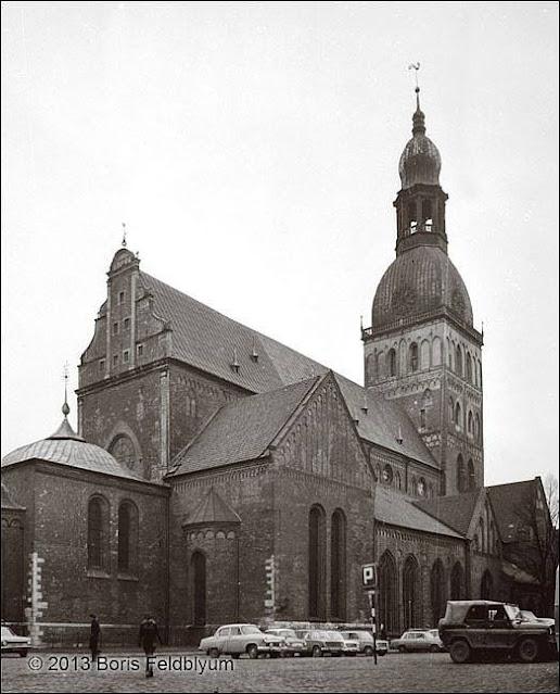 15 февраля 1978 года. Рига. Домский собор.
