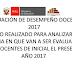 EVALUACIÓN DE DESEMPEÑO DOCENTE 2017