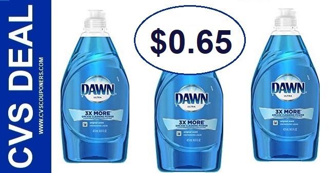 Dawn Dish Soap CVS Deal 98-914