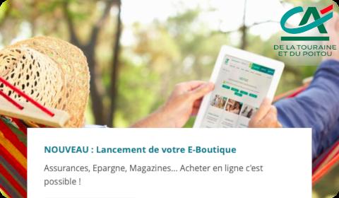 Achats en ligne – Crédit Agricole Touraine Poitou