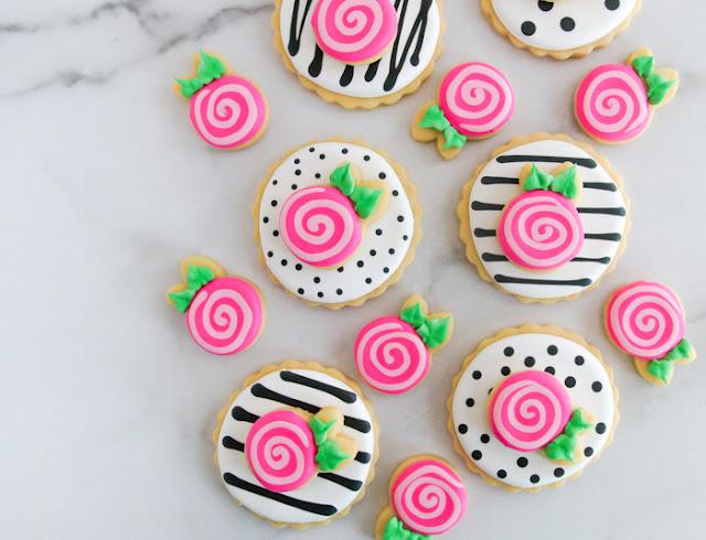 double-decker rose cookies