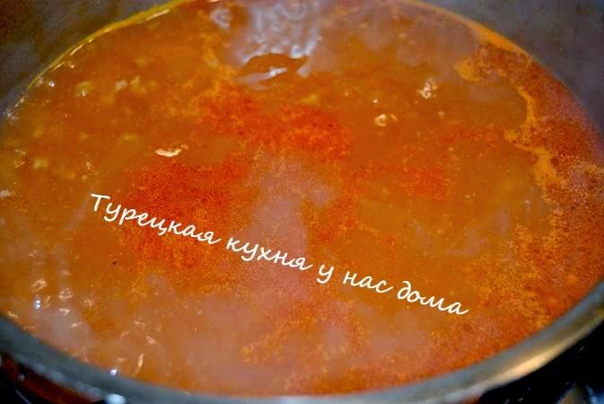 Суп с макаронами на воде