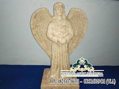 Patung Malaikat Batu Marmer