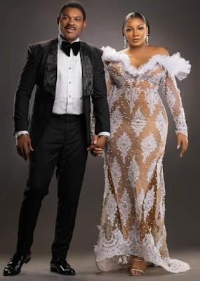 Omotala and Husband Celebrates 25 Years Wedding Anniversary