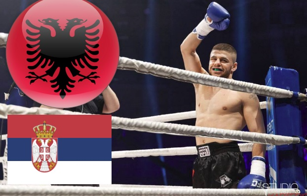 Florian Marku: I promise you, I'll kick beat with knockout the Serbian kickboxer at first round