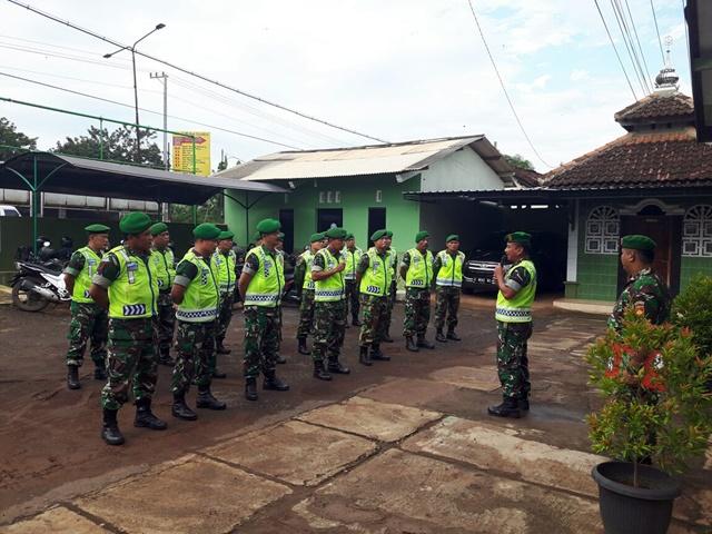 Kodim Batang gelar personel sepanjang Pantura Batang