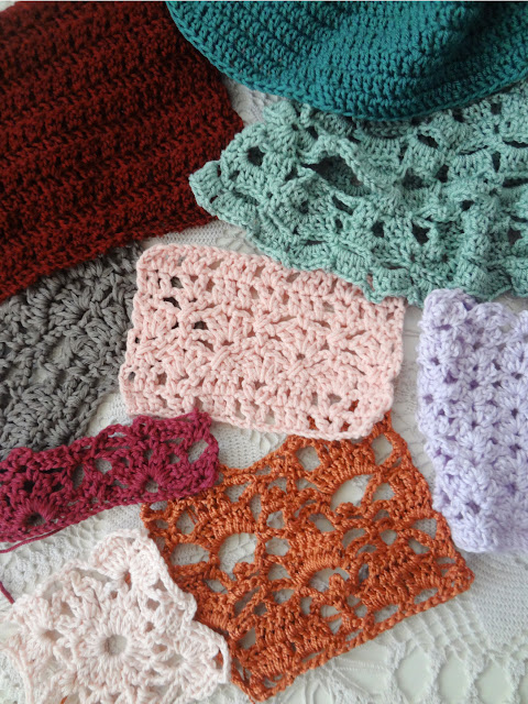 Crochet Swatches Tagging