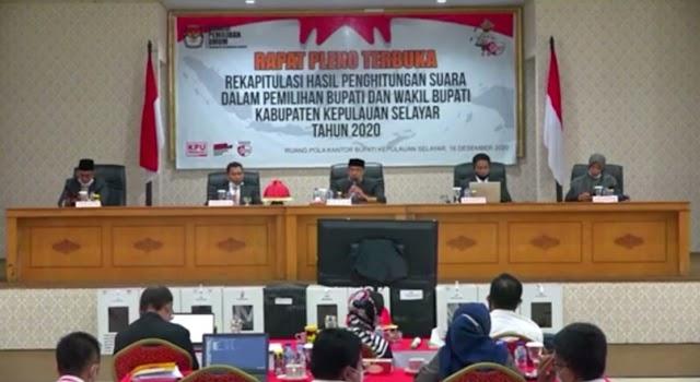 KPU Selayar Antarkan Pilkada ke Tahapan Rekapitulasi Pemungutan Suara