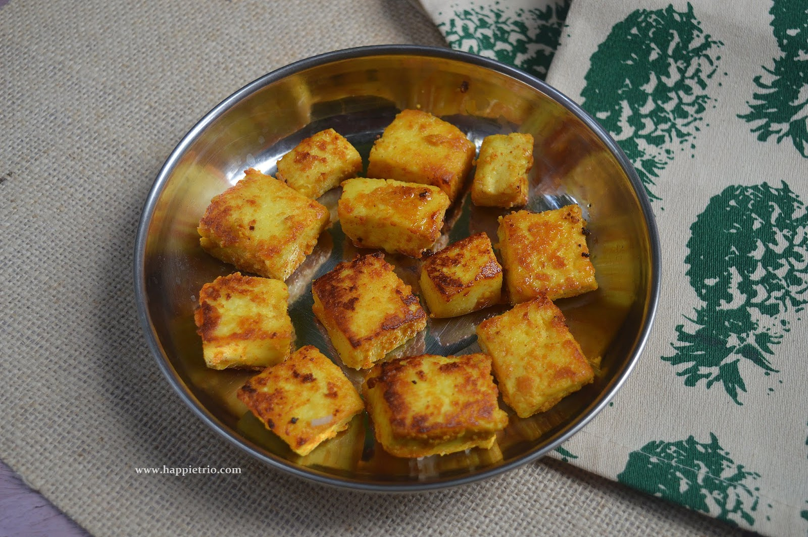 Yogurt Paneer Roast Recipe | Easy Paneer Roast Recipe