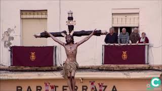Santísimo Cristo de la Expiración por la Plaza de la Catedral. Semana Santa Cádiz 2019