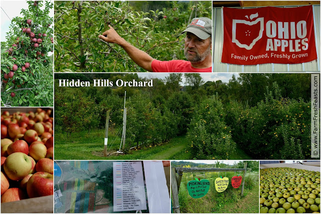 Hidden Hills Orchard in Marietta, Ohio is an excellent place to source apples for slow cooker apple butter.