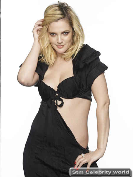 Drew Barrymore Top 20 Hot Hd Black Dress Photos Gallery