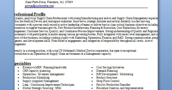 manager resume templates in word format free download