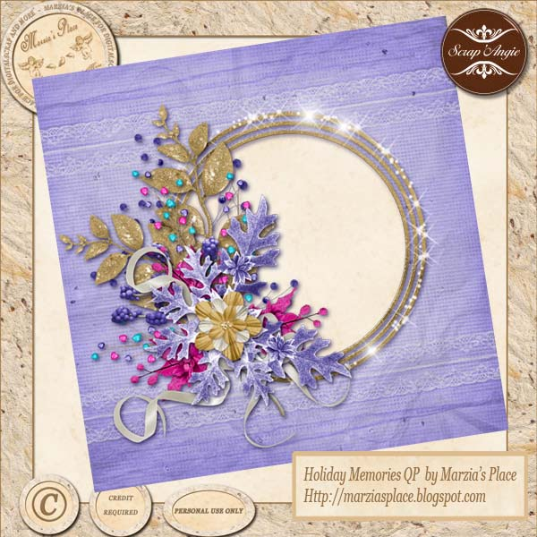 Holiday Memories Kit by Scrap