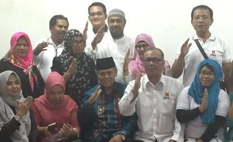 Emzalmi Datangi DPC PIKA Kota Padang, Taufik Hafni: Kami Ingin Berkontribusi dalam Pembangunan
