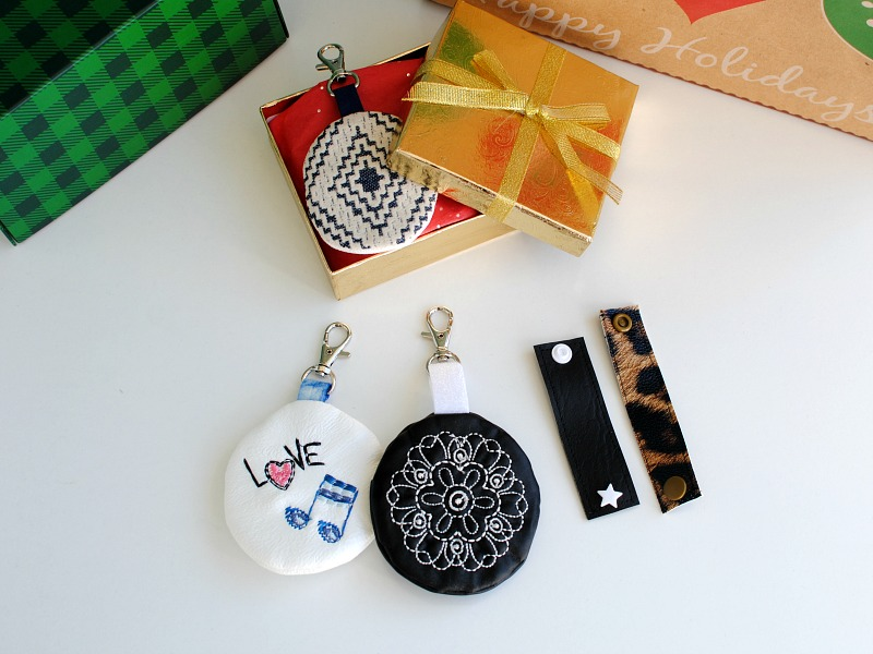 DIY Gifts: Earbud and Headphone Case