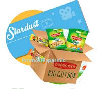Logo ''Vinci con Noberasco'': gratis in palio 500 biglietti cinema e 3 Bio Gift Box Noberasco