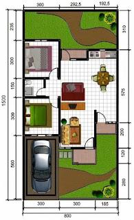 contoh tipe rumah 45