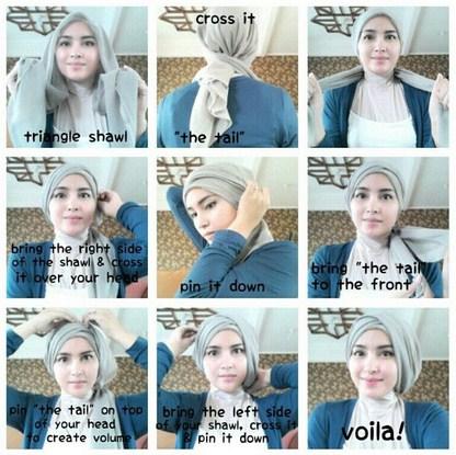 Video Tutorial Hijab Turban Dian Pelangi