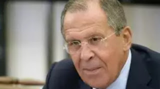 Russia's foreign minister said in a press conference that Russia will not ask for the lifting of anti-Russian sanctions.