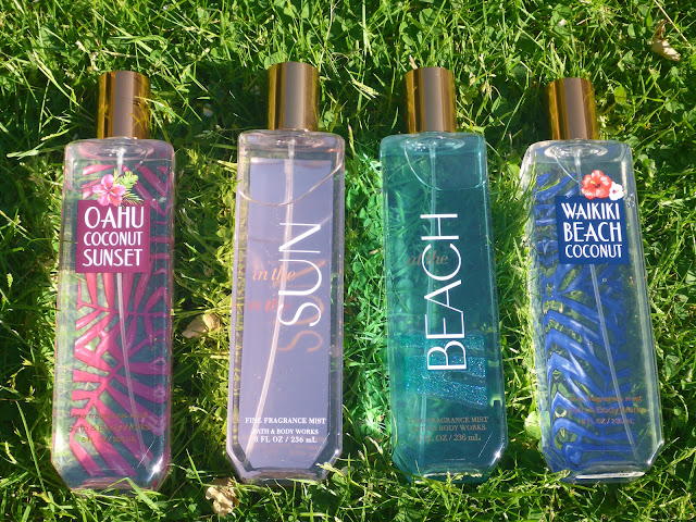 Bath & Body Works Fine Fragrance Mists