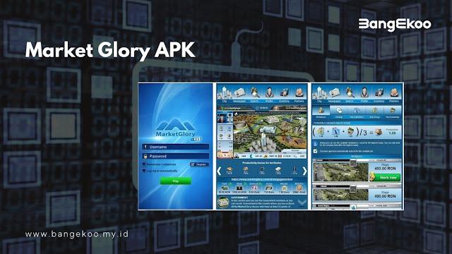 Market Glory APK Game Bisnis