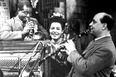 Louis Armstrong, Billie Holiday, Barney Bigard