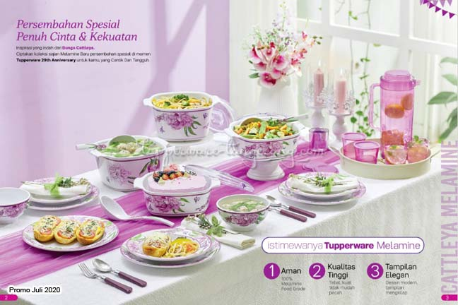 Melamine tupperware