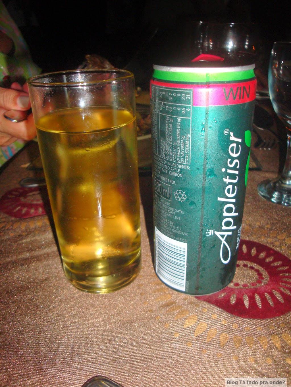 refrigerante de maçã