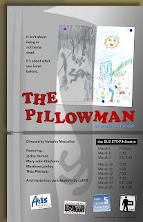 Halifax production of The Pillowman 2015