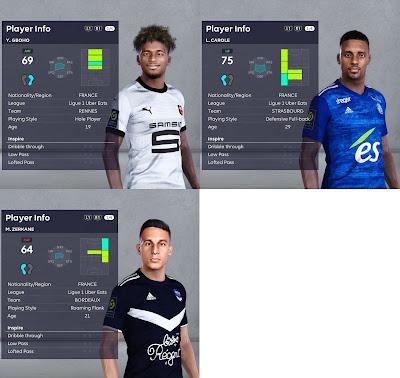 PES 2021 Ligue 1 Facepack Vol 9