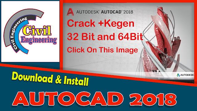 Download Free AutoCad 2018 X86 Bit X 64 Bit Full Version